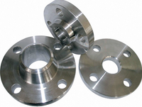 Tongue and groove face titanium flanges