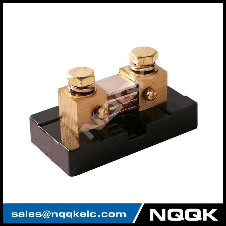 Nk999 500a 100a Dc 50mv 75mv Current Manganin Shunt