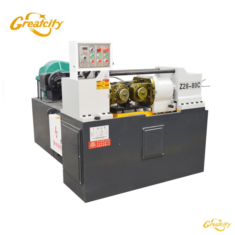 Z28-80c automatic pipe screw thread rolling machine