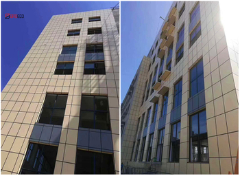 The Wuhan External Wall Cladding Substation Project