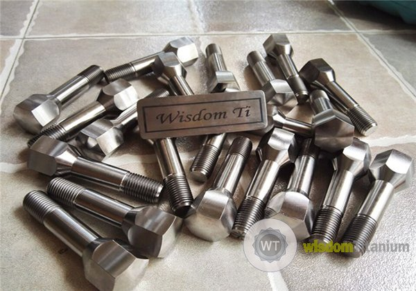 hex titanium ferrari lug bolt J