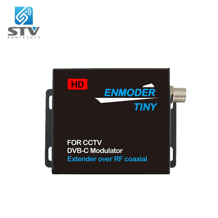 V201 Tiny Enmoder / HDMI to DVB-C Extender over RF Coaxial / For CCTV DVB-C Encoder Modulator