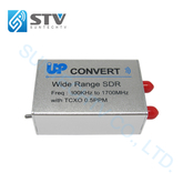 Wide Range 100K-1.7GHz SDR Receiver Support Up-convert