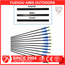 Aims archery hunting shooting arrows with aluminum shaft wholesale aluminum arrows