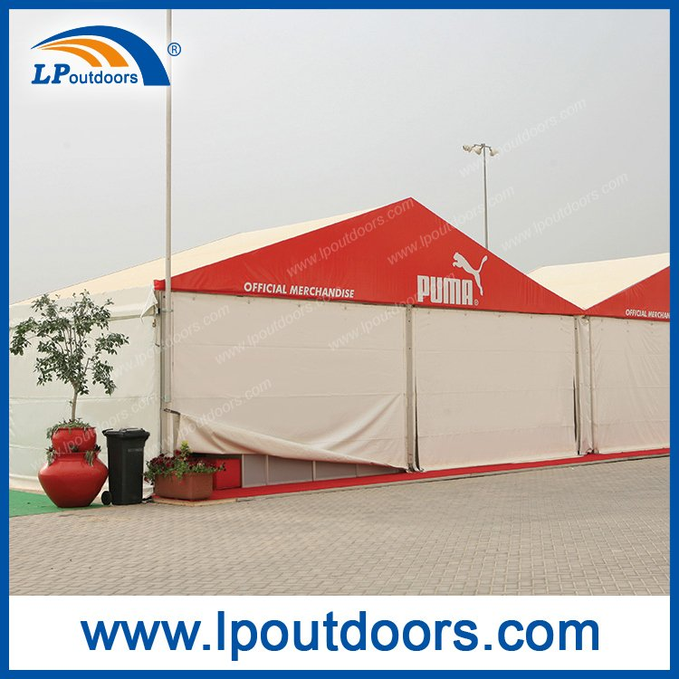 20X50m Outdoor Large High Quality Warehouse Tent with Roller Door