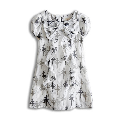 Printed Girls' Dress