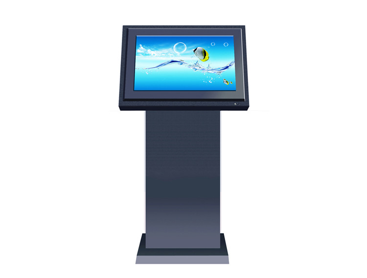 21.5inch Floor Standing LCD Digital Display Touch Screen Monitor