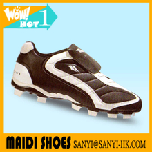 New custom cheap wholesale football shoe turf shoe rubber soccer shoe