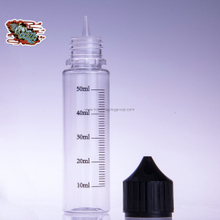 HD-Silk Printing Scale/ Logo Printing on 60ml E Liquid Bottle