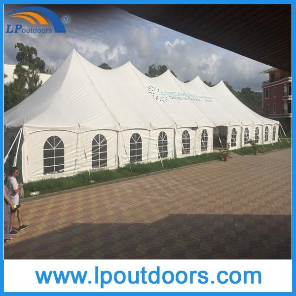 12X18m Outdoor Steel Pole Cheap Marquee Party Tent for Wedding Event