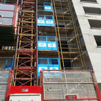 Construction Site Lift Door