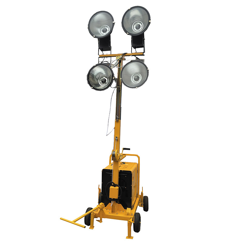 Mobile Light Tower Generator
