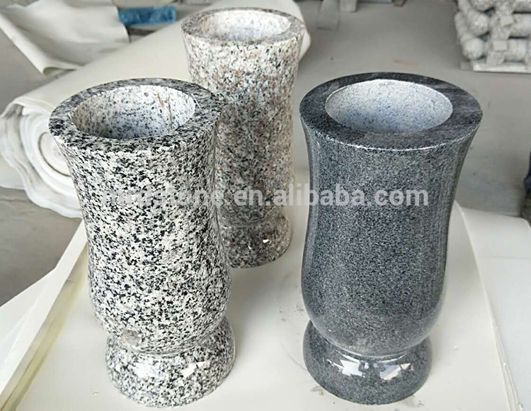 Cheap China Romania Granite Cemetery Vases For Tombstones Buy