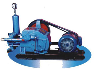 BW 160/10 Type Single Acting Reciprocating Piston,portable Mud Pump for Drilling Rigs on Mining