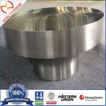 ASTM B381 GR5 Titanium Forgings with big size as per client drawing