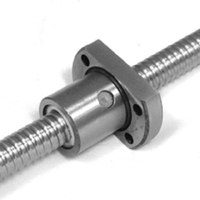 Flanged ballnut diameter 12mm pitch 3mm ball screw MIF1203