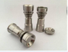 2016 fast shipping plus free samples gr2 domeless titanium nail,titanium domeless nail, electric titanium nail