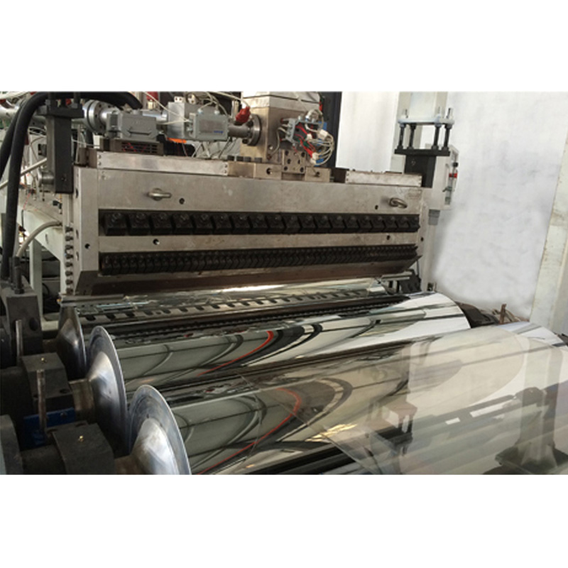 PC/PVC Corrugated Sheet Extrusion Line