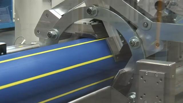 HDPE large diameter pipe making machine