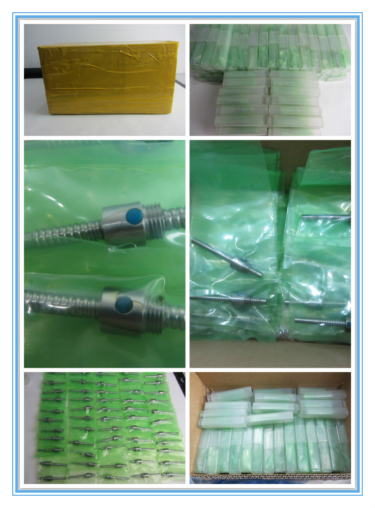 ball screw packing from SCREWTECH