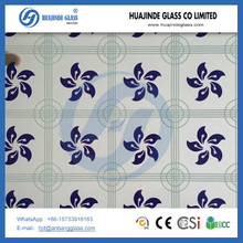 4mm 5mm office full height glass wall partition screen printing glass,silkscreen printing glass,silk printed glass