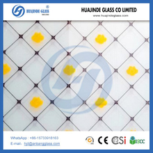 6mm, 5mm, 4mm silk screen printing glass, decorative door acid etched glass price
