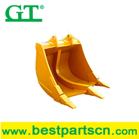 High quality superior materials RSBM-HDR30 excavator rock bucket for 31-38t excavator