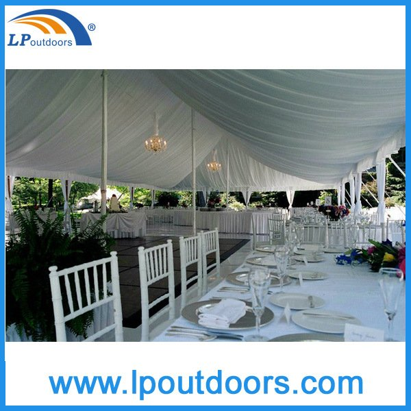 800 People High Peak Steel Frame Wedding Marquee Peg Pole Tent