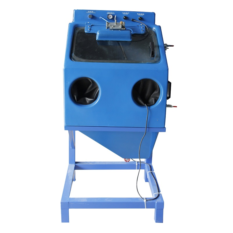 Wet Blast Cabinet For Small Parts, Water Sandblast Cabinet For Steel
