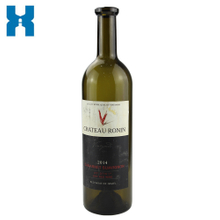 Wholesale 750ml Wine Glass Bottle Dark Green