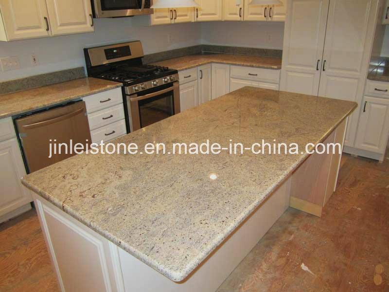 Kashmir White Granite Island Top Kitchen Top