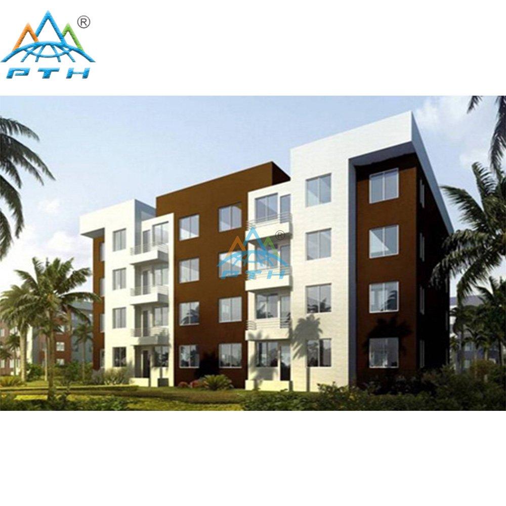 Prefabricated apartments building modular apartment for Metal building apartments