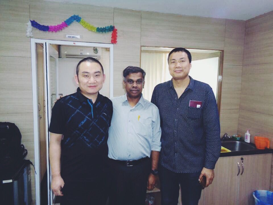 Indian customers came to visit Zhangyun Machinery
