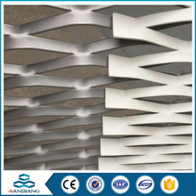 galvanized vinyl coated aluminum expanded wire metal mesh