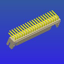 PH2.0mm间距单排T1弯针