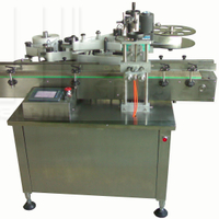 Three Sides Round Bottle Labeling Machine