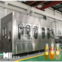 Juice With Pulp Hot Filling Machine RCGF18-12-18-6