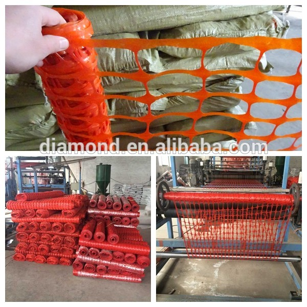 plastic snow safety fence
