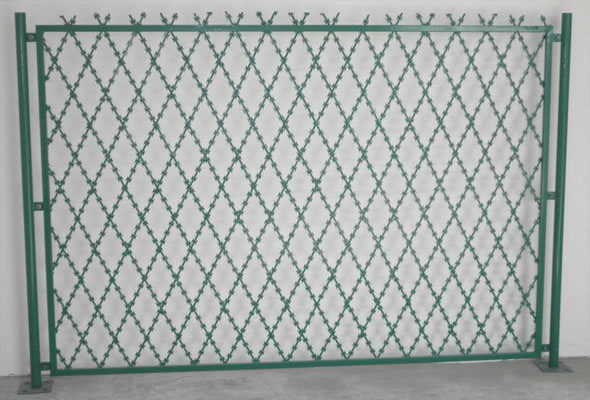 Welded Razor Wire Mesh-Saving Your Space And Money with Military ...