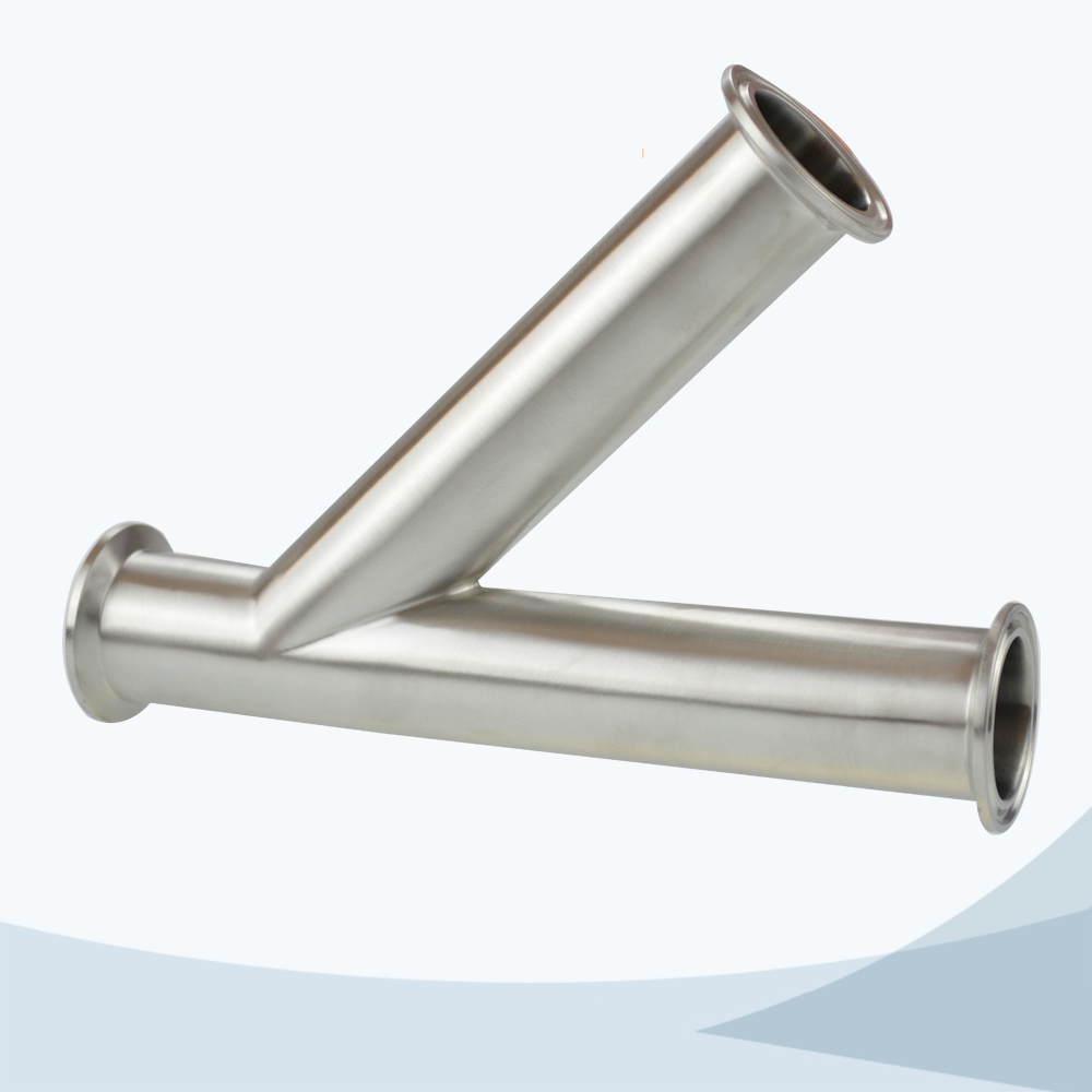Hygienic pipe fititng stainless steel fititing ss