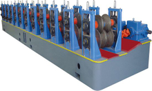 Guide rail cold roll forming machine