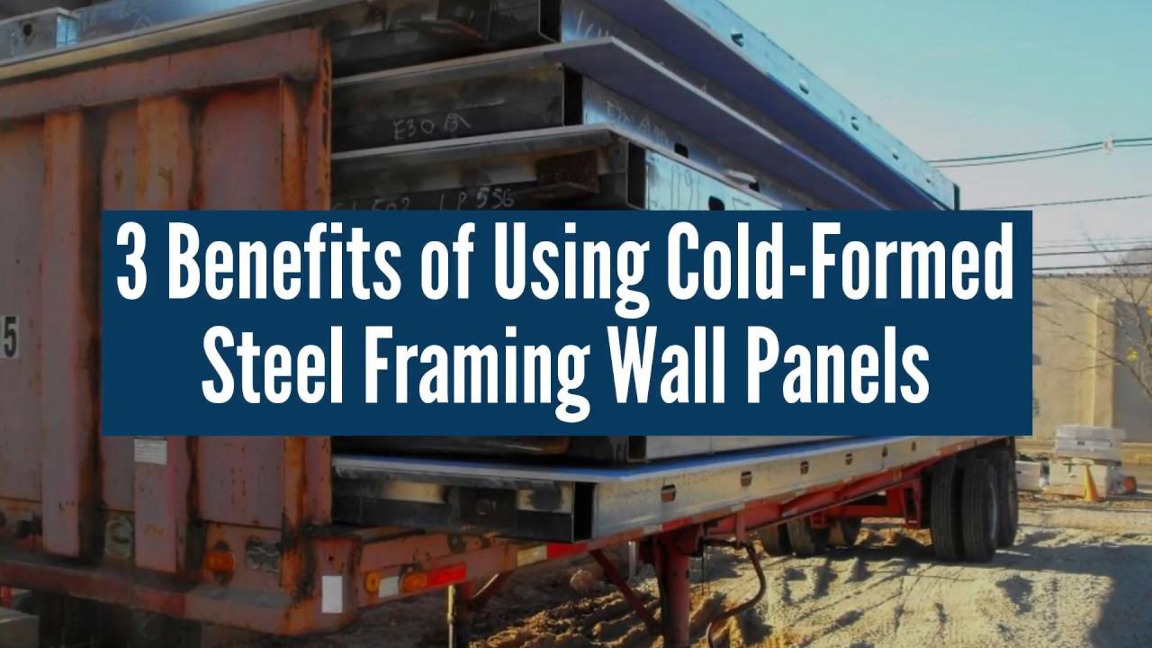 advantages of cold-formed steel