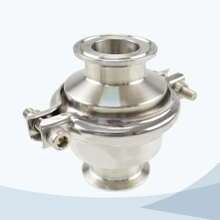 stainless steel food processing clamped middle-clamp NRV check valve