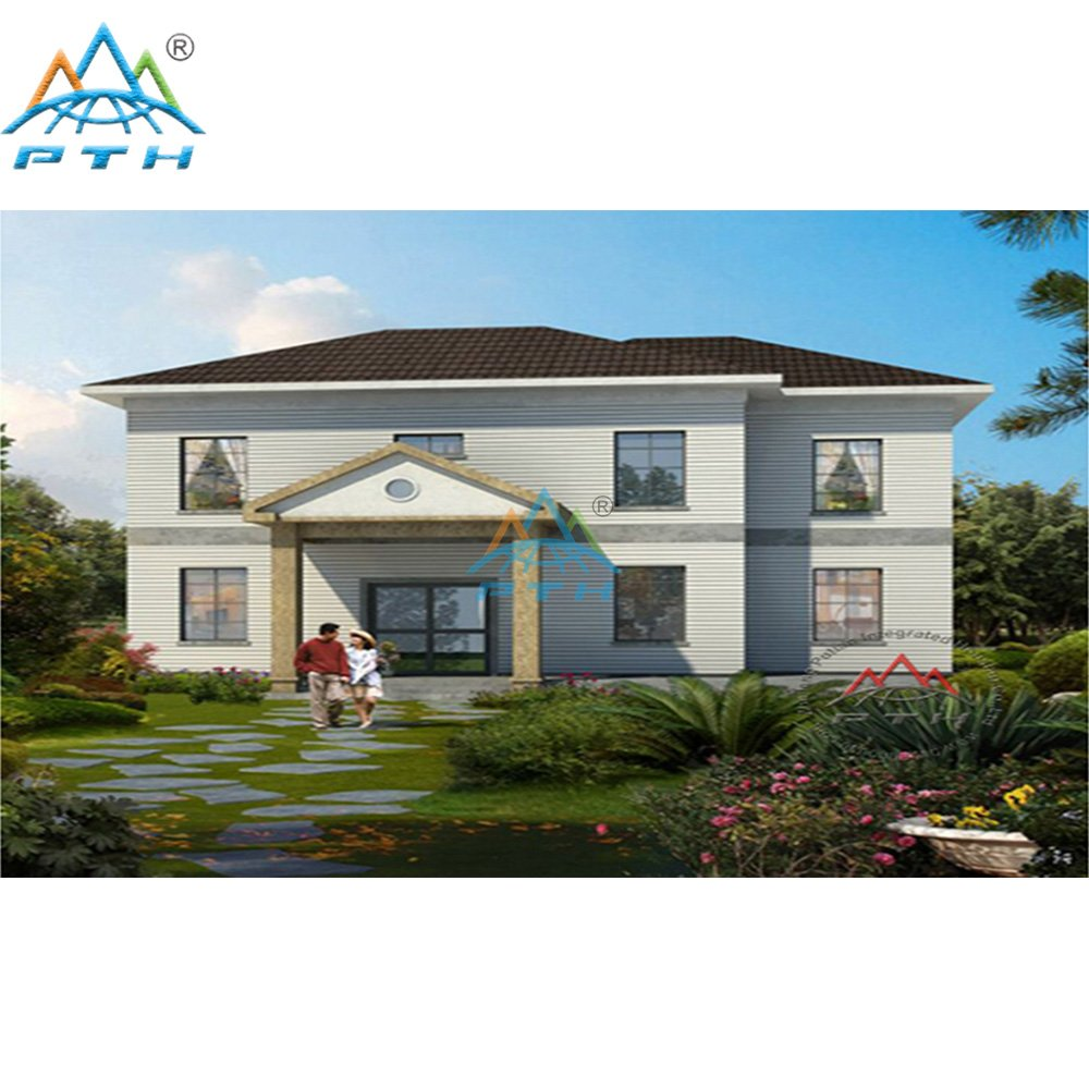 Easy Assemble Prefabricated Villa House with High Quality