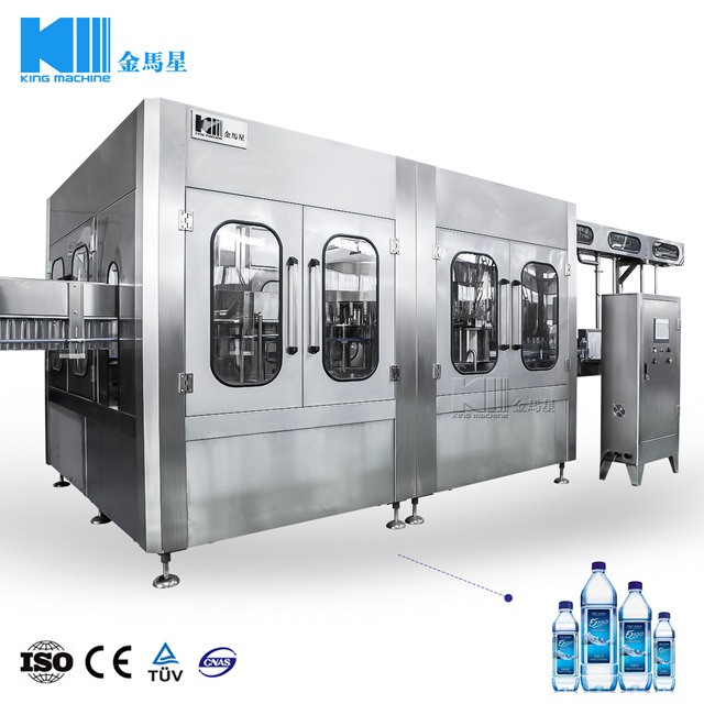Automatic Beverage Drinking Water Bottling Machine CGF 32-32-10