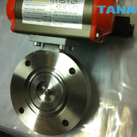 GI/GIQ/GIDSeries Pneumatic High Vacuum Butterfly Valve