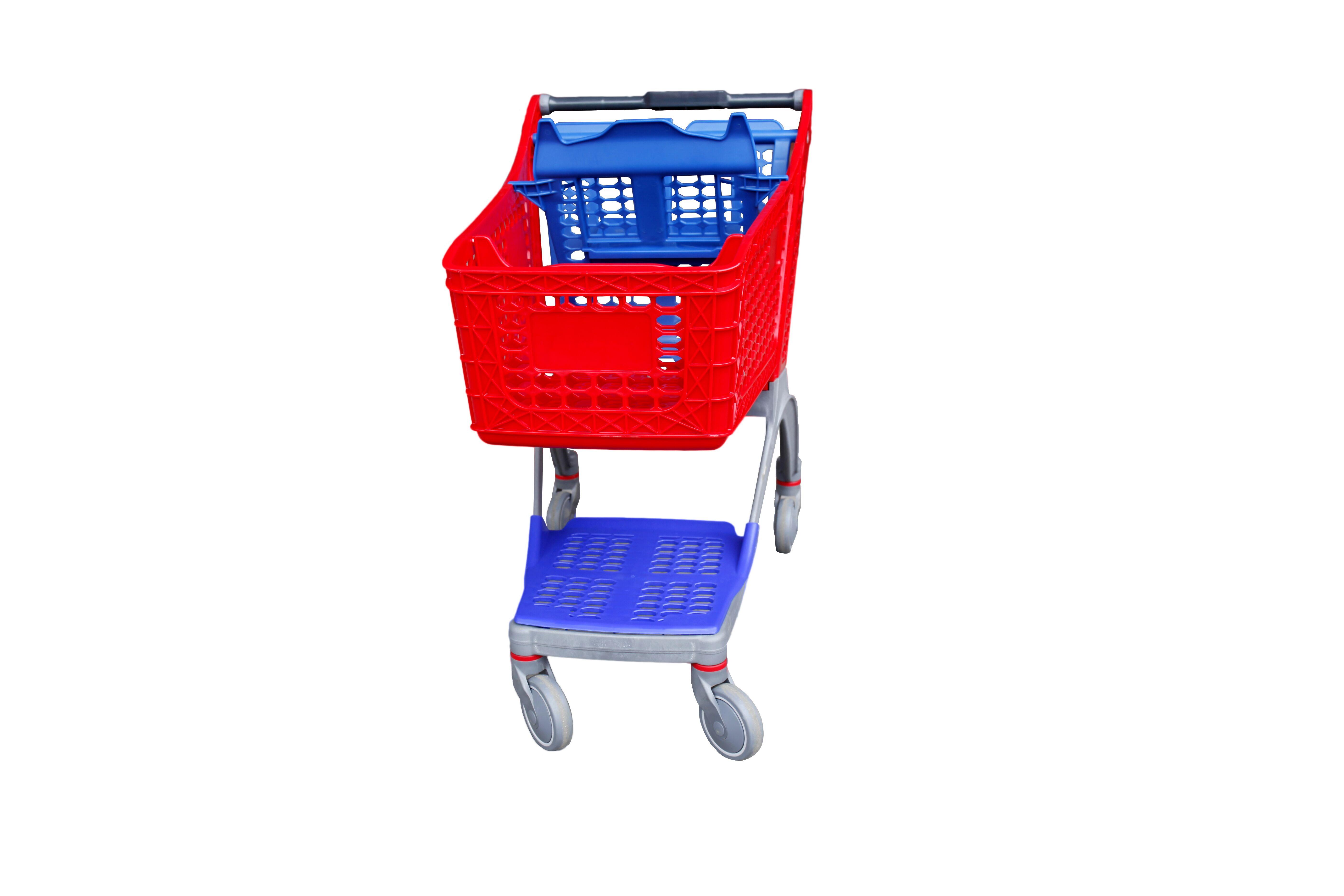 YRD-S130L Plastic Shopping Cart