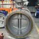 ANSI butterfly valve ASME B16.47-2006 standard butterfly 150lb- A series dimension