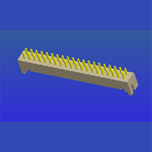 PH2.0mm spacing two-row T1 straight needle