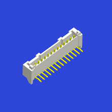 PAE 2.0mm spacing curved pin
